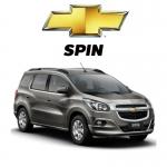 พรมดักฝุ่นไวนิล ชุด All Full จำนวน 9 ชิ้น Chevrolet Spin 2013-2017
