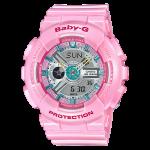 นาฬิกา Casio Baby-G Girls' Generation Sweet Candy Pastel series รุ่น BA-110CA-4A (ชมพูพาสเทล) ของแท้ รับประกัน1ปี