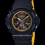 นาฬิกา Casio G-Shock Special color BLACK & YELLOW color series รุ่น AWG-M100SBY-1A (ไม่มีขายในไทย) ของแท้ รับประกัน1ปี