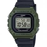 นาฬิกา Casio STANDARD DIGITAL W-218 series รุ่น W-218H-3AV ของแท้ รับประกัน1ปี