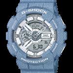 นาฬิกา Casio G-Shock ลายยีนส์ Limited Denim Color series รุ่น GA-110DC-2A7 (สี Light Blue Jean) ของแท้ รับประกัน 1 ปี