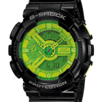 "นาฬิกา คาสิโอ Casio G-Shock Standard Analog-Digital รุ่น GA-110B-1A3 ""Mountain Dew"""