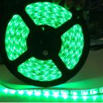 ไฟริบบิ้นสีเขียว LED 60 ดวง 5M 12V
