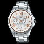 นาฬิกา คาสิโอ Casio SHEEN MULTI-HAND รุ่น SHE-3806D-7B ของแท้ รับประกัน1ปี