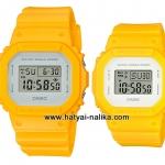 นาฬิกา คาสิโอ Casio G-SHOCK x BABY-G เซ็ตคู่รัก Calm & Clean color series รุ่น DW-5600CU-9 x BGD-560CU-9 Pair set ของแท้ รับประกัน 1 ปี