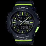 นาฬิกา Casio Baby-G for Running BGA-240 series รุ่น BGA-240-1A2 ของแท้ รับประกัน1ปี