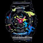 นาฬิกา Casio Baby-G BA-120SPL Splatter Pattern series รุ่น BA-120SPL-1A ของแท้ รับประกัน1ปี