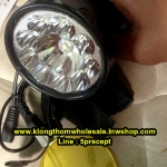 ไฟฉายคาดหัว HL9+1 LEDแถมเลนส์เหลือง