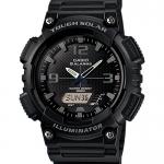นาฬิกา คาสิโอ Casio SOLAR POWERED รุ่น AQ-S810W-1A2V (Black Out)