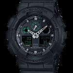 นาฬิกา คาสิโอ Casio G-Shock Limited Military Black Series รุ่น GA-100MB-1A หายาก