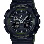 นาฬิกา Casio G-Shock Limited Layered Color series รุ่น GA-100L-1A (ดำเขียวทหาร) ของแท้ รับประกัน1ปี