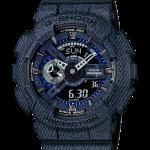นาฬิกา Casio G-Shock ลายยีนส์ Limited Denim Color series รุ่น GA-110DC-1A (สี Dark Blue Jean) ของแท้ รับประกัน 1 ปี