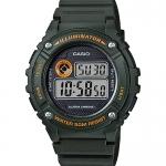 นาฬิกา Casio STANDARD DIGITAL รุ่น W-216H-3BV ของแท้ รับประกัน 1 ปี