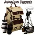 กระเป๋ากล้องสะพายหลังเป้ Adventure Bagpack ใส่ Notebook