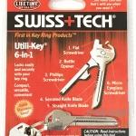 Swiss Tech Utili-Key 6 in 1 พวงกุญแจเครื่องมืออเนกประสงค์