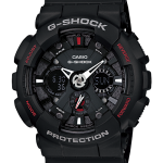"นาฬิกา คาสิโอ Casio G-Shock Standard Analog-Digital รุ่น GA-120-1A ""Black Spiderman"""