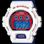 """นาฬิกา คาสิโอ Casio G-Shock Limited Color series รุ่น GD-X6900CS-7 """"Captain America"""" หายากมาก"""