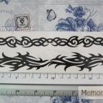สติ๊กเกอร์ tattoo ลายเส้น รหัส BLD เลือกแบบลายด้านใน