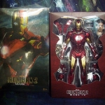Hot Toys MMS123 Iron Man 2: 1/6th scale Mark IV Limited Edition Collectible Figurine [Unbox]