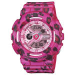 นาฬิกา คาสิโอ Casio Baby-G Girls' Generation Leopard series รุ่น BA-110LP-4A