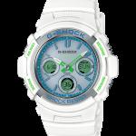 นาฬิกา Casio G-Shock Limited White & mint Green Color series รุ่น AWG-M100SWG-7A (ไม่มีขายในไทย) ของแท้ รับประกัน1ปี
