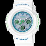 นาฬิกา Casio G-Shock Limited White & mint Green Color series รุ่น AWG-M510SWG-7A (Japan only ไม่มีขายในไทย) ของแท้ รับประกัน1ปี