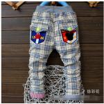 กางเกงขายาวลายสก๊อต (6 เดือน-4 ปี)