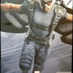 Hot Toys : MMS245 Falcon 1/6 Scale Captain America The Winter Soldier Figure NEW