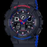 """นาฬิกา Casio G-SHOCK Limited Layered Tricolor series รุ่น GA-100LT-1A """"PEPSI"""" ของแท้ รับประกัน1ปี"""