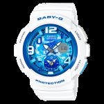 นาฬิกา Casio Baby-G ANALOG-DIGITAL Beach Traveler series รุ่น BGA-190GL-7B ของแท้ รับประกัน1ปี