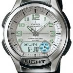 นาฬิกา คาสิโอ Casio 10 YEAR BATTERY รุ่น AQ-180W-7B