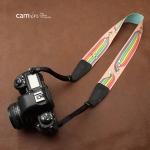 สายคล้องกล้องลายการ์ตูนสายรุ้ง cam-in Rainbow kids