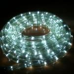 ไฟท่อ LED 3 สายแบน สีขาว 10 เมตร มีคอนโทรล