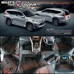 พรมกระดุม Original ชุด All Full จำนวน 14 ชิ้น Mitsubishi All New Pajero Sport 2015-2019