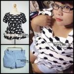 Review Mix&Match เสื้อ PYS07607/กางเกง PYP07611