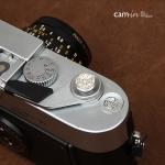 Soft Shutter Release Button รุ่น 10 mm ลายดอกไม้สีเงิน ใช้กับ Fuji XT20 XT10 XT2 XE2 X20 X100 XE1 Leica ฯลฯ