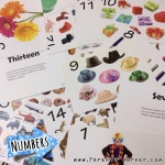 Early Learning Flash Cards - Numbers