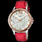 นาฬิกา คาสิโอ Casio SHEEN MULTI-HAND รุ่น SHE-3056GL-7A ของแท้ รับประกัน1ปี