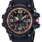 นาฬิกา Casio G-Shock MUDMASTER Twin Sensor Vintage Rose Gold series รุ่น GG-1000RG-1A ของแท้ รับประกัน1ปี