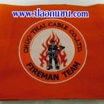 ตัวอย่างปลอกแขน Fireman Team