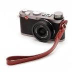 สายคล้องข้อมือกล้อง Camera Wrist Strap กล้อง Mirrorless / Leica รุ่น Simple Red Wine สีไวน์แดง