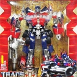 Transformers Revenge of the Fallen Buster Optimus Prime RA-24 Leader Class NEW