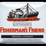 Fisherman's Friend ลูกอมทำให้ชุ่มคอ 1 ห่อ 25g - ORIGINAL WHITE ฟิชเชอร์แมนส์ เฟรนด์