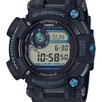 "นาฬิกา Casio G-Shock มนุษย์กบ FROGMAN Triple Sensor /Multiband6 /Tough Solar/Carbon Fiber รุ่น GWF-D1000B-1 ""Made in Japan"""