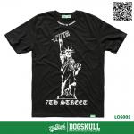 เสื้อยืด 7TH STREET - รุ่น Liberty One Star Gothic