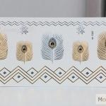 รหัส M-T สติ๊กเกอร์แทททู สีทอง Flash Tattoos เลือกลายด้านใน