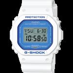 นาฬิกา Casio G-Shock White & Blue series รุ่น DW-5600WB-7 ของแท้ รับประกัน 1 ปี (นำเข้าJapan กล่องหนังญี่ปุ่น) ไม่มีวางขายในไทย