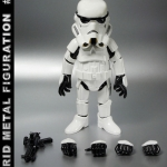 86hero Herocross Hybrid Metal Figuration #005 Star Wars Stormtrooper NEW
