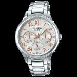 นาฬิกา คาสิโอ Casio SHEEN MULTI-HAND SHE-3058 series รุ่น SHE-3058D-7A ของแท้ รับประกัน1ปี
