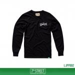 เสื้อยืดแขนยาว 7TH STREET - รุ่น Softtech | Black